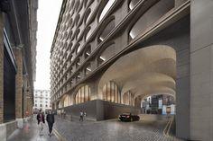 Gallery of Adjaye Associates Designs Mixed-Use Building Near London's Trafalgar Square - 1