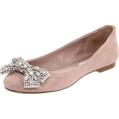 Steve Madden Women's Karisma Ballet Flat ($35) ❤ liked on Polyvore featuring shoes, flats, sapatos, sapatilhas, zapatos, blush suede, flat pumps, ballet shoes, flexible ballet flats and steve madden