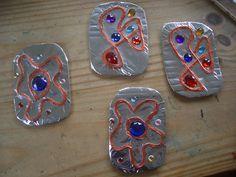 make a viking brooch More