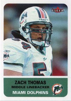 ebb820180c0 38 Best Zach Thomas #3 Dolphin images | Jack lambert, Mike ...