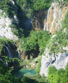 "Croatia - Travel - Beautiful - National Park ""The Large Waterfall"" is the largest waterfall in Croatia, standing at 78m (255ft) tall."