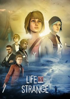 My Life Is Strange cinematic poster. If Dontnod ever makes a LiS movie, I got them covered. I rendered characters against a white wall (using the dark room set ; Life Is Strange Fanart, Life Is Strange 3, Different Kinds Of Art, Partners In Crime, Lesbian, Cool Photos, Video Games, Images, Fan Art