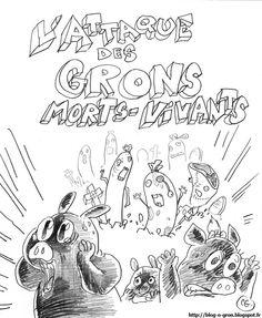 Le Blog'o'Gron: Gribouillages