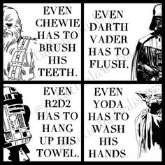 Hey, I found this really awesome Etsy listing at https://www.etsy.com/listing/228708777/star-wars-bathroom-rules-digital-art