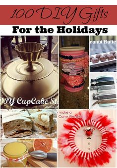 Looking for a list of DIY holiday gifts that you can actually make? Well, here it is! 100 options to choose from.