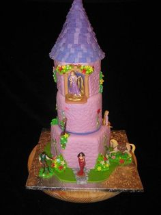 tangled cake ideas Cakerbelle Does Cakes Cupcakes and More