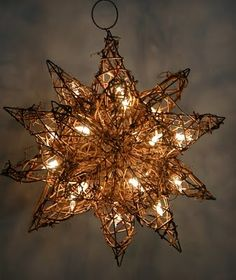 grapevine star....I'm obsessed with this, must figure out a way to make my own
