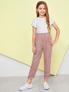 Kids Outfits Girls, Cute Girl Outfits, Girls Fashion Clothes, Tween Fashion, Basic Outfits, Sporty Outfits, Moda Fashion, Cute Outfits For Kids, Girl Fashion