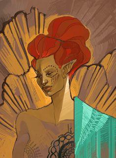 happy birthday to ! Character Inspiration, Character Art, Character Design, Skyrim Concept Art, Elder Scrolls Games, D D Characters, Dark Elf, High Fantasy, Old Paper