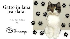 Cat Lover Gifts, Cat Lovers, Felt Crafts Patterns, Cat Reading, Needle Felted Cat, Pet Loss Gifts, Needle Felting Tutorials, Felt Cat, Handmade Felt