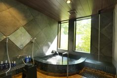 Eighteen rooms that come with open-air hot spring baths. Hakodate, Hot Springs, Baths, Rooms, Bedrooms, Spa Water
