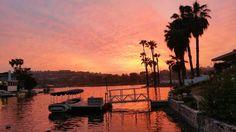 Sunset Feb 18, 2015 at Lake San Marcos. Nextdoor Lake San Marcos: General