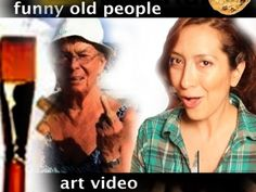 Funny Old People Art