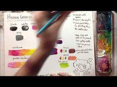 Gouache Basics Tutorial - YouTube