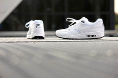 Nike Air Max 1 Essential White/ White-Black - 537383-125