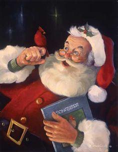 Christmas Red Jigsaw Puzzle Christmas Scenes, Noel Christmas, Father Christmas, Vintage Christmas Cards, Christmas Pictures, Winter Christmas, Christmas Jigsaw Puzzles, Amor Animal, Illustration Noel