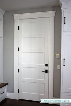 Craftsman Exterior Door Trim Painted Craftsman Style
