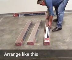Brad shows us How to Acclimate Your Laminate Flooring before installing a new laminate floor.