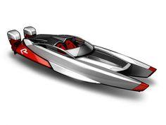 CAT Racing Boat Concept