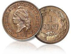 Confederate penny c. 1861