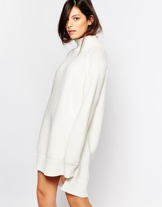 Image 1 of French Connection Oversized Sweater Dress