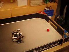 lego mindstorms NXT robots football