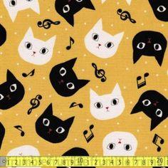 Disco Cat Yellow