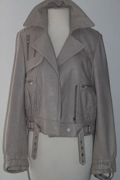 truth and pride leather jacket