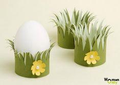 Пасхальные поделки - подставки для яиц