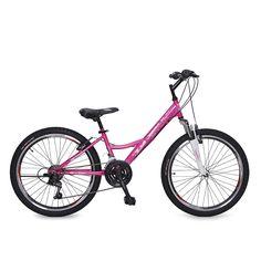 "Мони Трейд - Велосипед със скорости 24"" Princess"