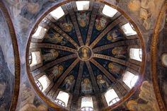 Istanbul. Sant Salvador de Cora. Cúpula