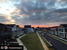 One of the reasons there are so many pitches in the neighborhood? Views like this. #Repost @mariamears with @repostapp. ・・・ Sun set on a somewhat cloud Friday night from my second story porch. #frontporchliving #frontporch #nortoncommonsstyle #EverythingLouisville #louisvillehomes #sharelouisville #louisvillelove #ourviewoflou #howwelou #louisville #louisvilleky #nortoncommons