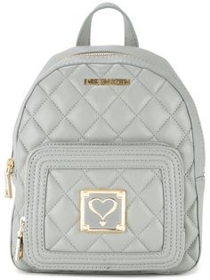 767b6b889b9 LOVE MOSCHINO Quilted Backpack. #lovemoschino #bags #backpacks #