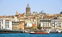 Beyoglu and the Galata Tower, Istanbul