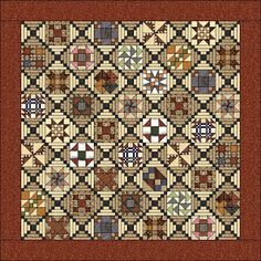 Thread Head: Thread Head Quilt Along ... every quilt block in this quilt has free pattern and instructions! Is a 2010 quilt along but all information still there