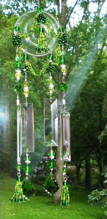 wind chime suncatcher indoor/outdoor