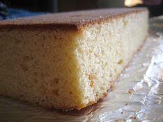 Chef Tess Bakeresse: My Yellow Homemade Cake Mix
