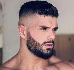 Trendy males quick coiffure - Beard Tips Beard Styles For Men, Hair And Beard Styles, Short Hair Styles Men, Faded Beard Styles, Hairstyles Haircuts, Haircuts For Men, Short Hairstyles For Men, Black Hairstyles, Beard And Hairstyles