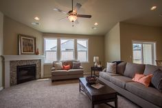 The Tollgate by Hayden Homes - Living Room - the Tollgate offers 4 bedrooms and 2.5 bathrooms with 2,300 sq. feet.