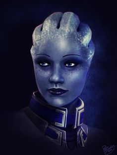 Mass Effect: Liara T'soni by *ruthieee