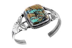 Boulder Turquoise Sterling Silver Bracelet – Stagecoach