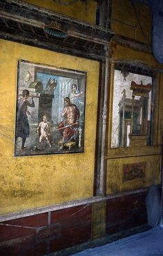 Pompeii: House of the Vettii (Yellow Room) | Flickr - Photo Sharing!