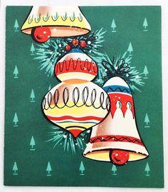 "That Christmasy Feeling (@thatchristmasyfeeling) on Instagram: ""Vintage Christmas card via iamcassiuswondai on eBay."""