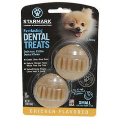 STARMARK EVERLASTING DENTAL TREATS BACON SMALL 2PK - BD Luxe Dogs & Supplies - 1