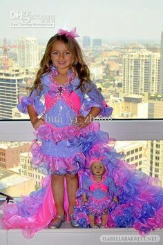 Cheap New White Girls Kids Pageant Dresses Formal Occasion Tiers ...