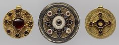 Disk Brooch  Date: early 7th century Geography: Made in, Faversham, England Culture: Anglo-Saxon