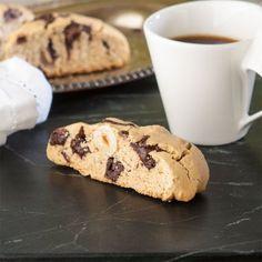 Hazelnut Chocolate Chunk Biscotti