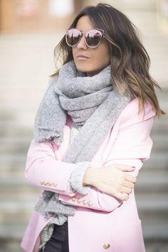 lovely pepa blogger jacket pants shoes scarf sunglasses bag sweater