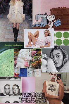 Fashion Collage, Months In A Year, Matcha, Mood Boards, Health And Wellness, Photo And Video, Instagram, Wall Photos, Photography