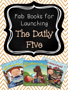 School Is a Happy Place: Perfect Books for Launching The Daily Five & FREE Printable Anchor Charts